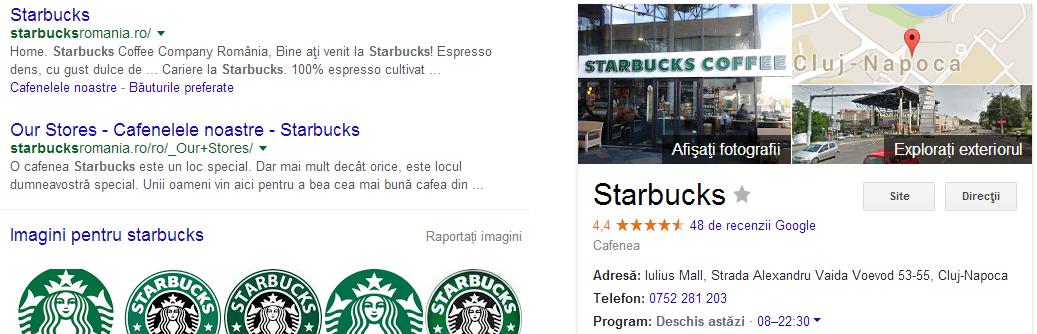 Promovare AdWords - Google My Business ramane in dreapta
