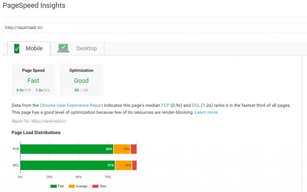 tool pentru testat viteza site-ului